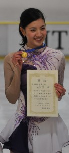 3・4級女子で優勝を果たした柳澤