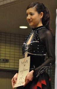 女子Cクラスで準優勝に輝いた柳澤