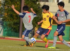 苦しい時に幾度もチームを救ってきた端山。全日本大学選抜にも選出された