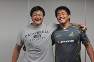白子(左)と小山田(右)のLOコンビの連携に期待がかかる