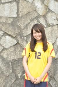JUFAガールとして大学サッカー部を盛り上げたあゆみさん
