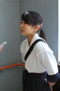 女子高時に日本一に輝いた岡部主将