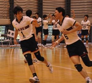 岡田、星谷ら4年生が「入学してから一度も勝ったことがない」中大相手に初勝利をおさめた