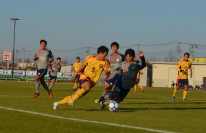 この日1得点1アシストのかつやくを見せた増田副将。来年はチームを牽引していくことがl期待される