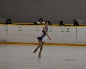 3,4級女子で優勝した柳澤