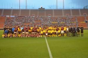 最後の国立開催となった早慶サッカー定期戦