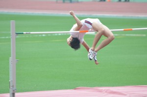 刈田の華麗な跳躍