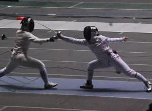 3位入賞を果たした和田(右)