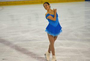 フリーの「Cinderella」を披露した鈴木美桜