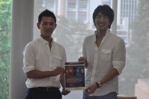 今回のイベントを企画した木村匡宏氏(写真左)と司会を務める田中大貴氏(写真右)