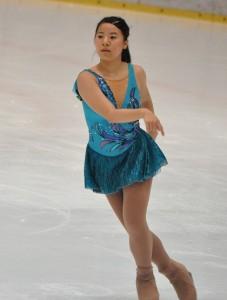 新プログラムで優勝した鈴木伶奈
