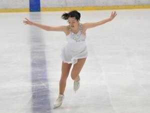 Aクラス女子で優勝した鈴木美桜の『タイタニック』
