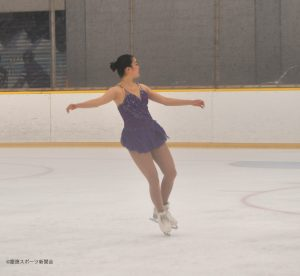 新プログラムを披露した鈴木美桜