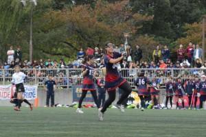 この日3得点とMVP級の活躍を見せた川村。これまでの不調を吹き飛ばした