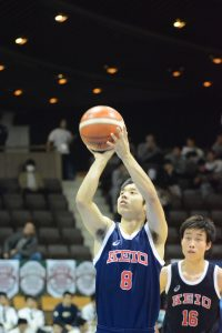 留学で1年間のブランク後も懸命にバスケに励んだ金子
