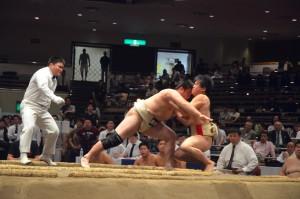 Bクラストーナメント駒大戦、大将・藪本は土俵際へ追い込まれる