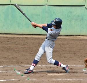 この日チャンスを作った小川選手