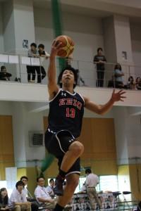 攻守にわたり活躍を見せた福元。出場時間も長くチームに貢献した