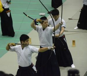 村田はトーナメントで1本も外さなかった!(左下)