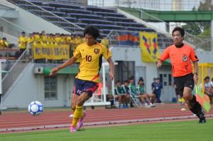 この日前線でプレーした端山は全日本選抜への復帰も果たした