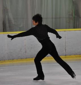 廣澤は、独自の世界観で観る者を引き込むスケーターだった