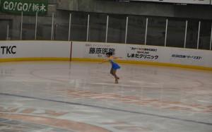 地元栃木県の誇りを胸に、滑りきった鈴木