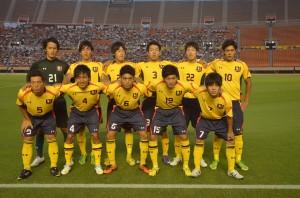 慶大スターティングイレブン。小村、雨宮が今季公式戦初出場となった