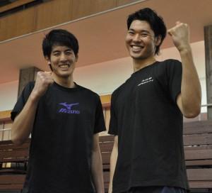 特集の大トリを飾るのは岡田(左)と星谷(右)!