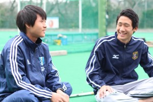 坂田(左)の活躍に注目が集まる