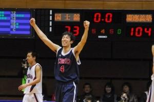 120点取るバスケットの象徴となった、2008年のインカレ。5試合中4試合で100点ゲームを達成した