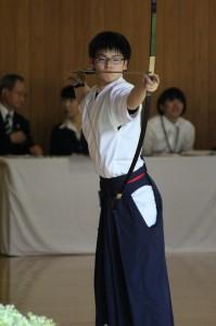2年生ながら、大前の役割を十分に果たしている菅谷